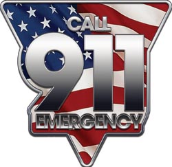 E-911 Emergency Logo