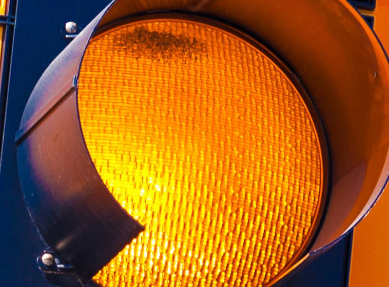 Traffic signal installation on Kedron at entrance to Southern Springs