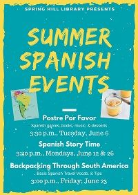 Spanish Summer Events web