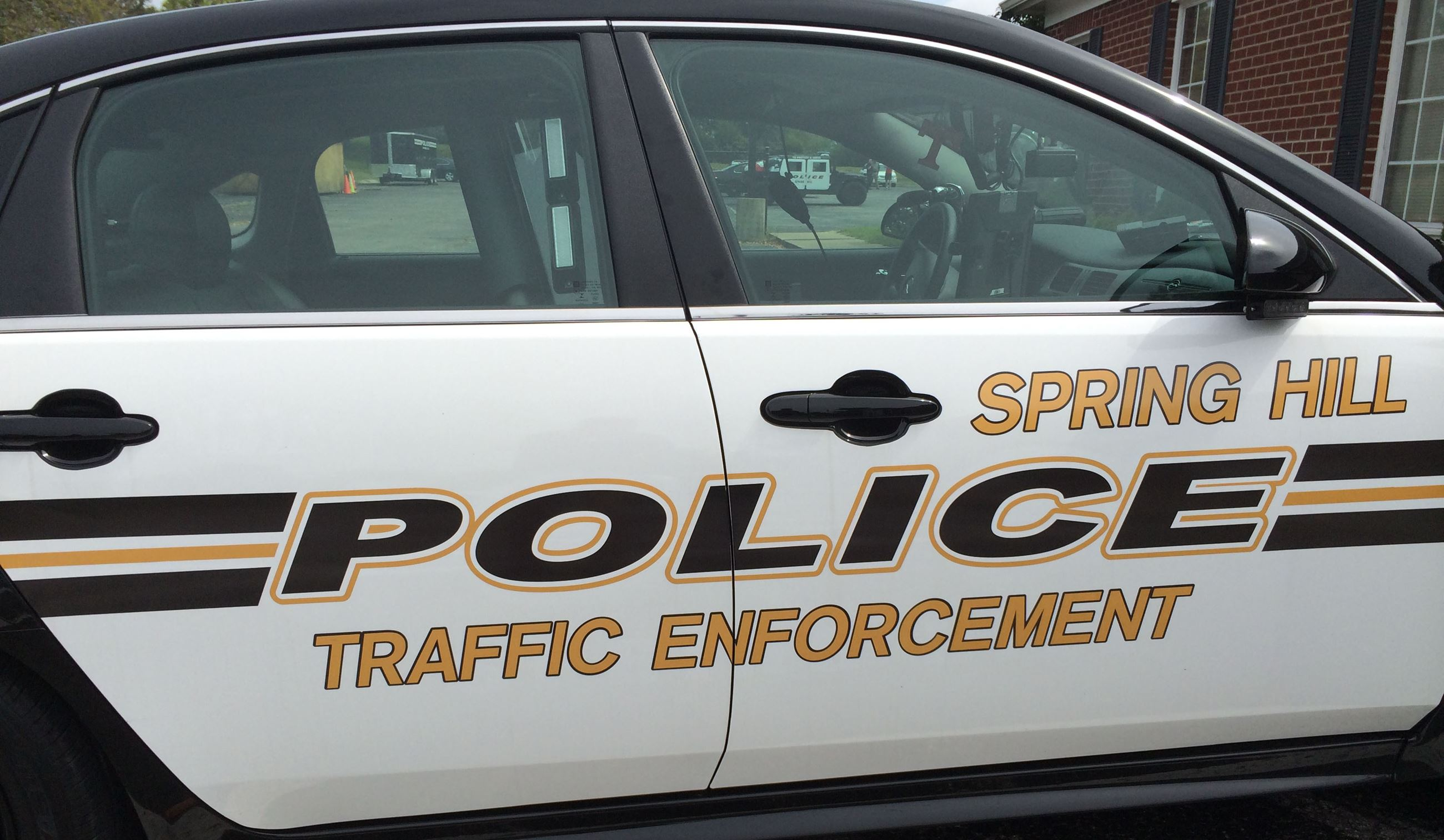 Spring Hill Police cruiser