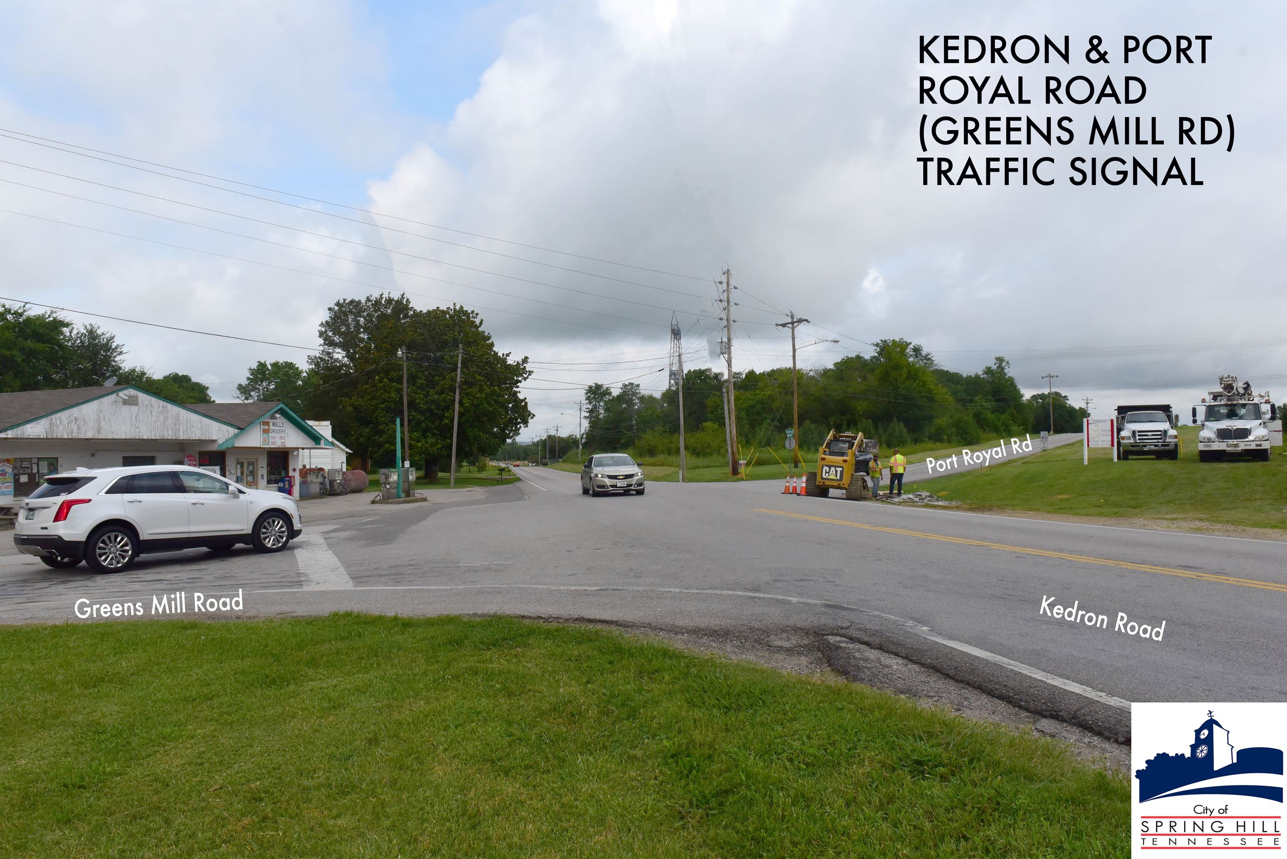 Kedron Road and Port Royal Road traffic signal