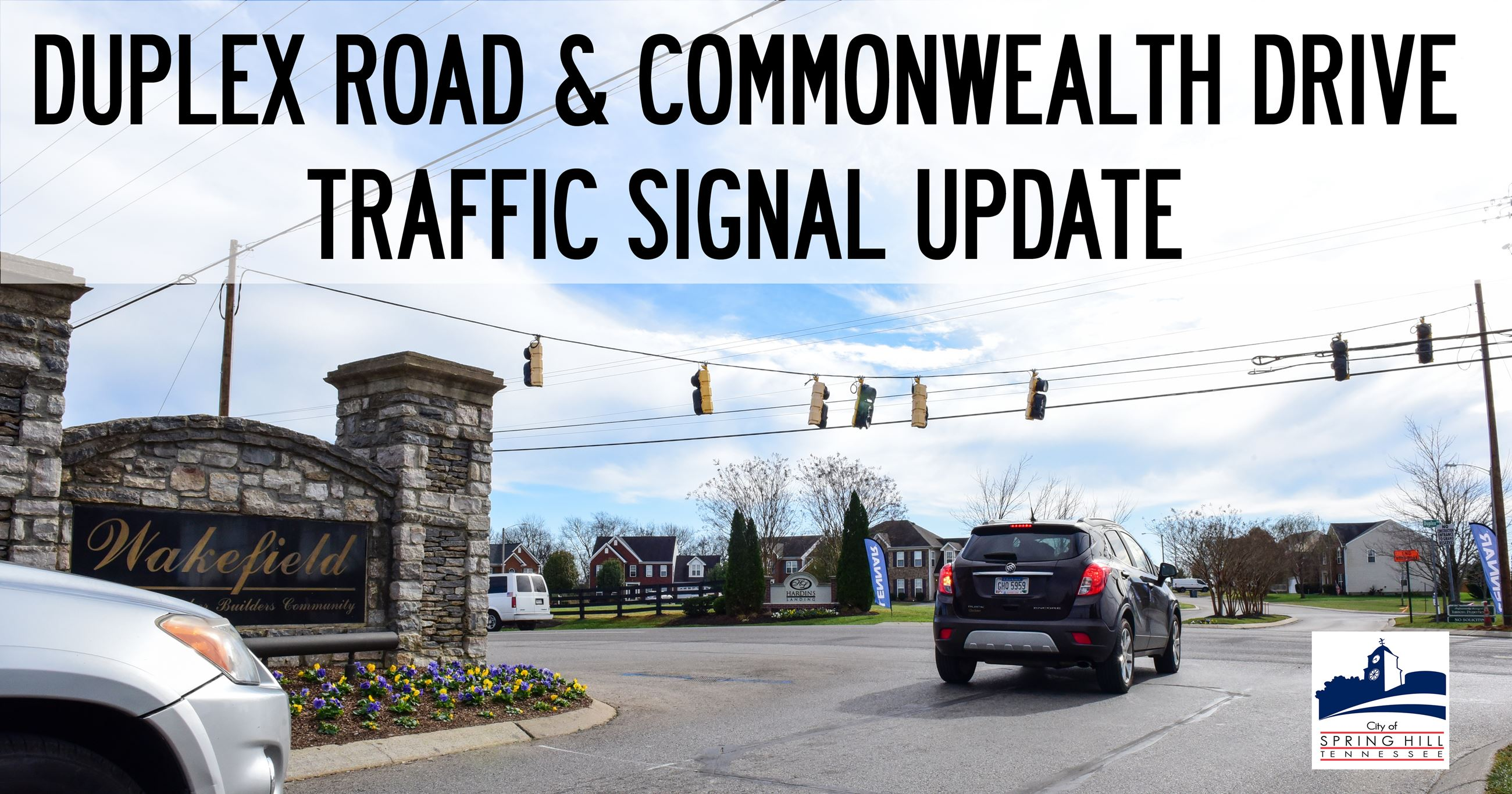 Traffic Signal at Commonwealth Drive