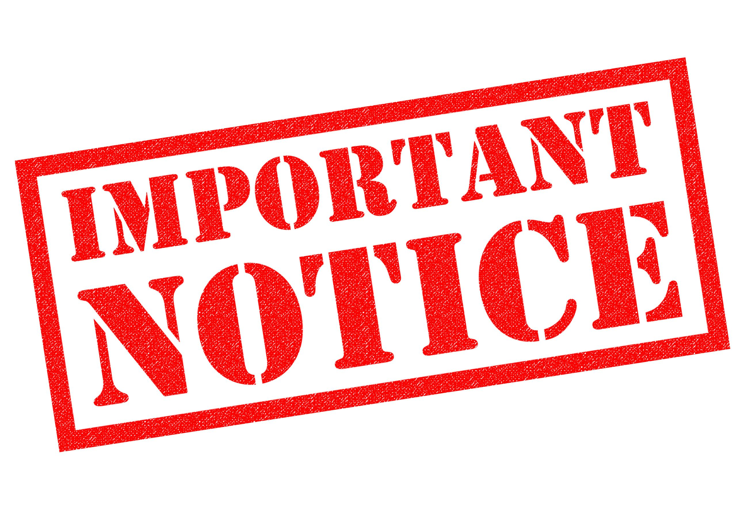 Important Utility Billing Notice