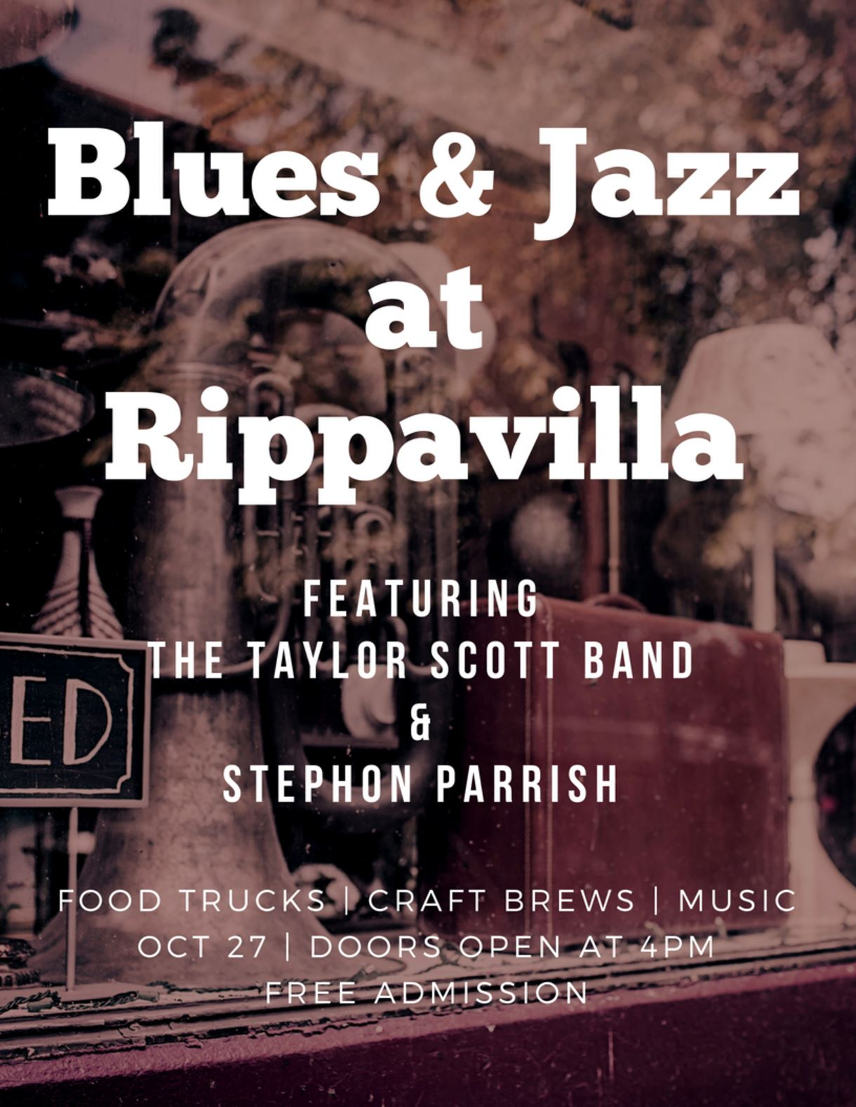 Blues and Jazz at Rippavilla