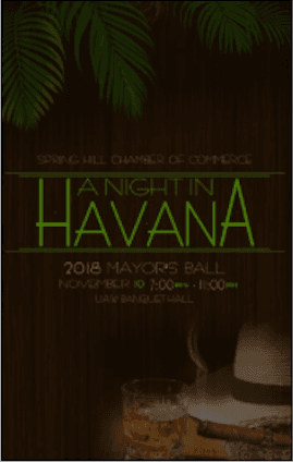 The Mayors Ball, A Night in Havana poster