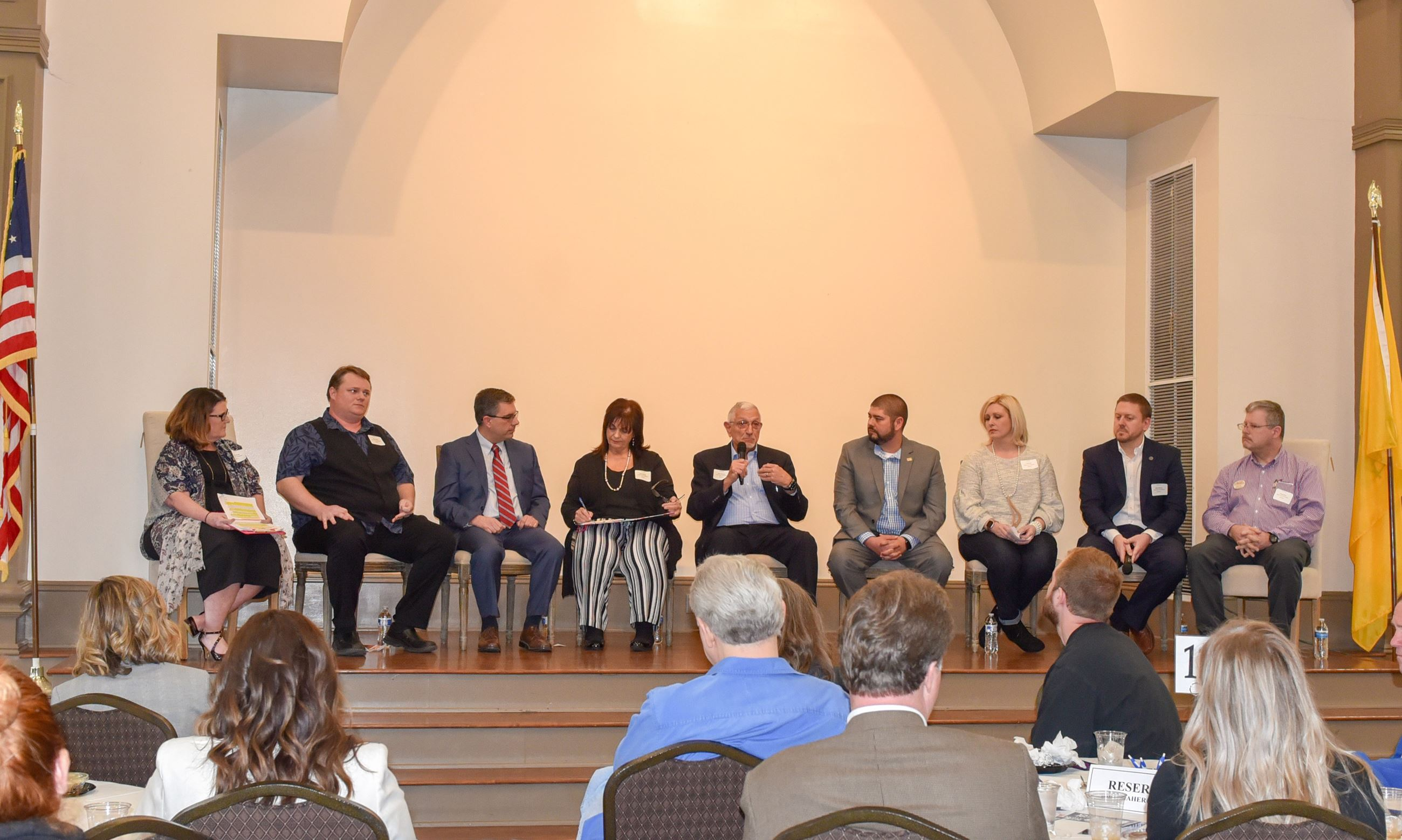 Alderman candidates participating in the February 2019 Meet the Candidates event