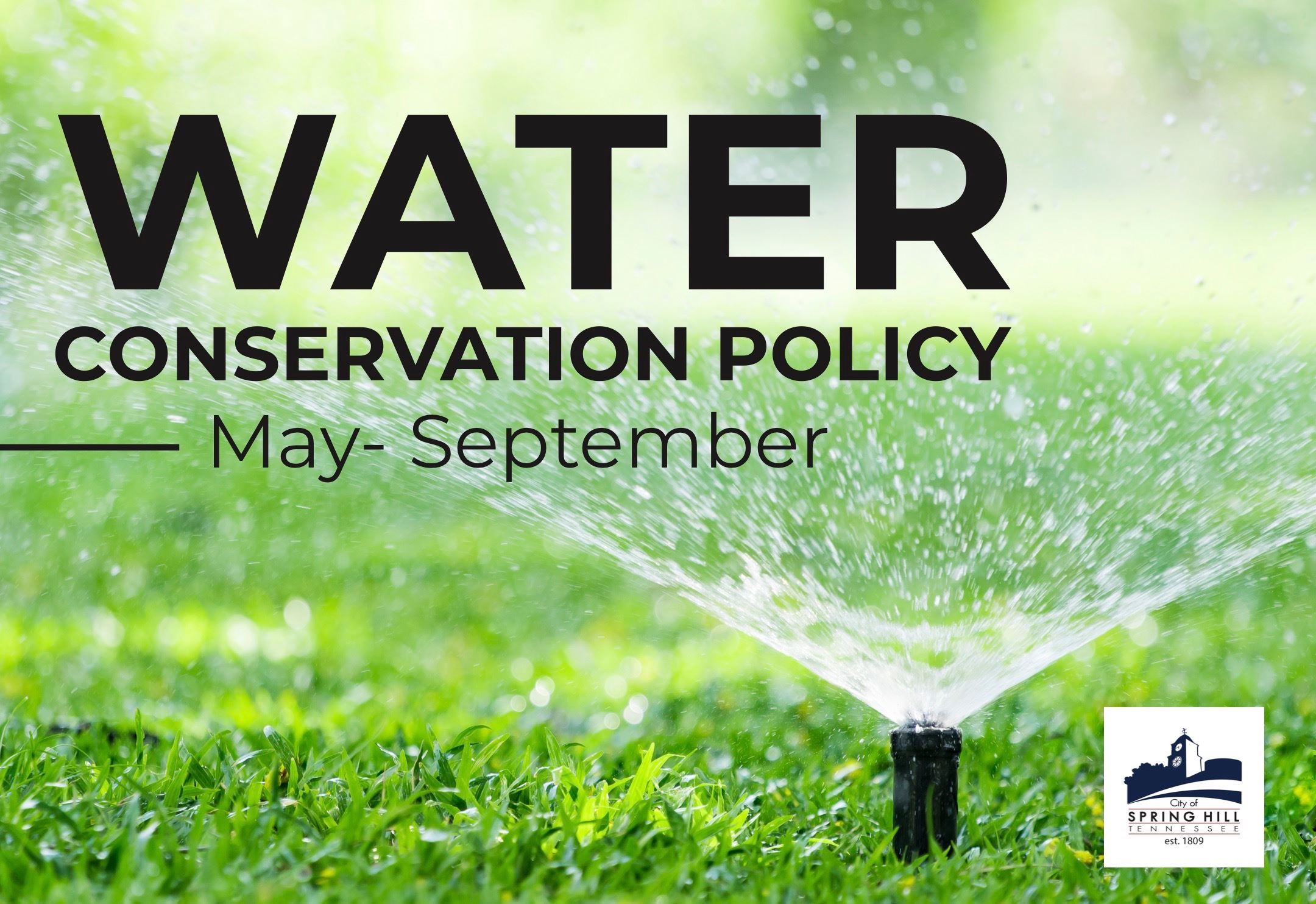 Water Conservation Policy