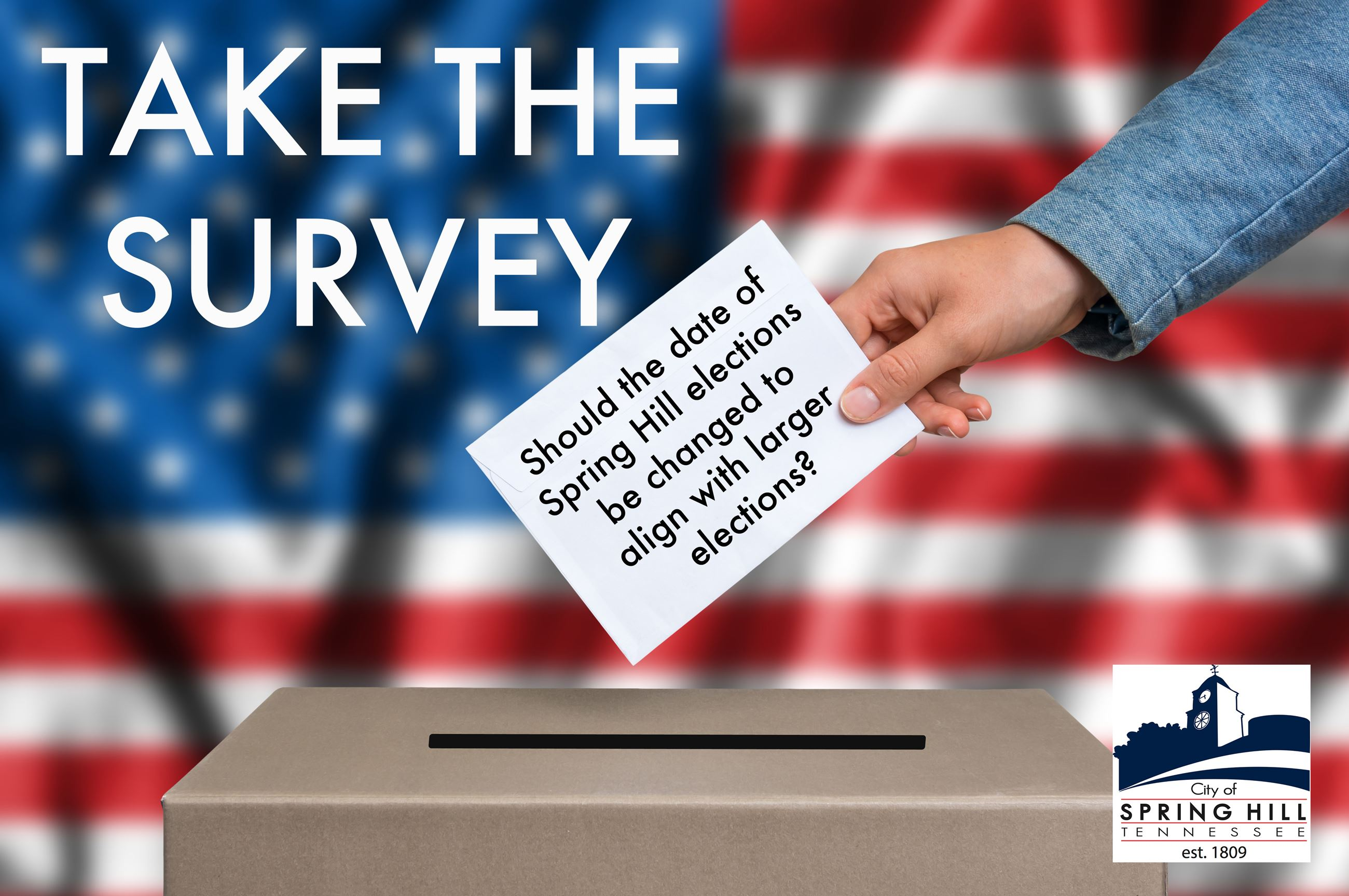 Take the survey on the proposed city election date change