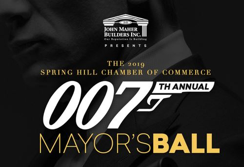 Spring Hill Mayor's Ball 2019 is themed double O seven