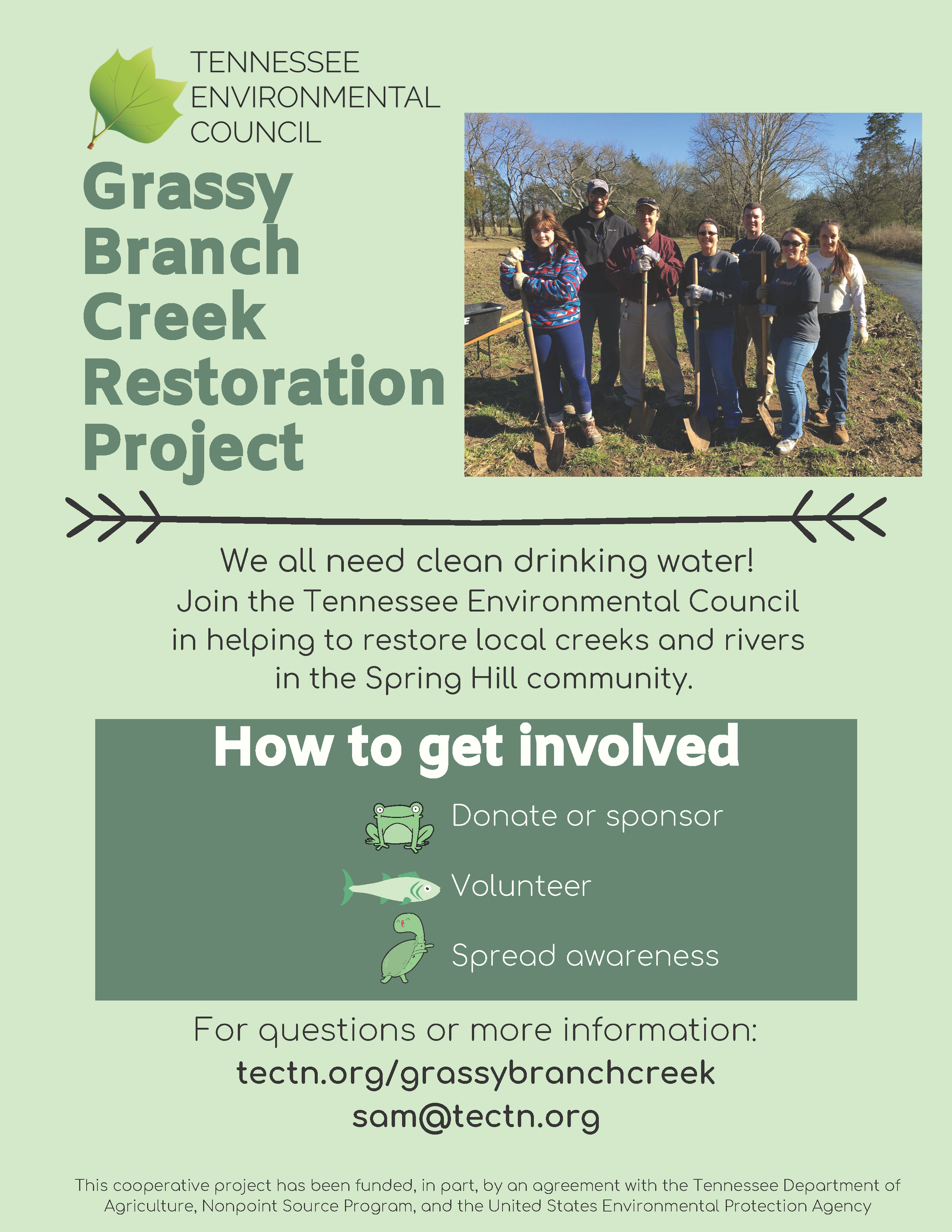 Grassy Branch Restoration Project