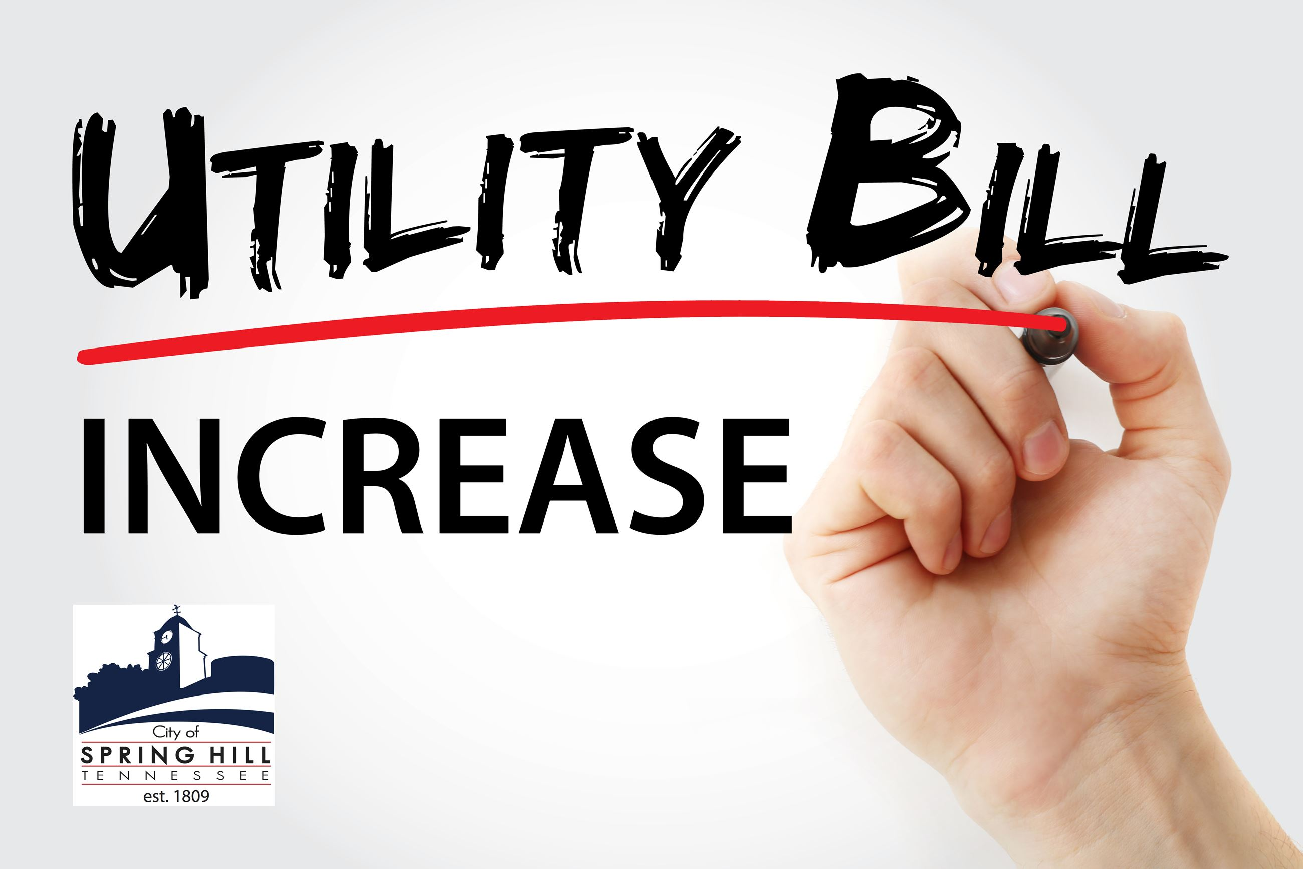 Utility Bill Increase