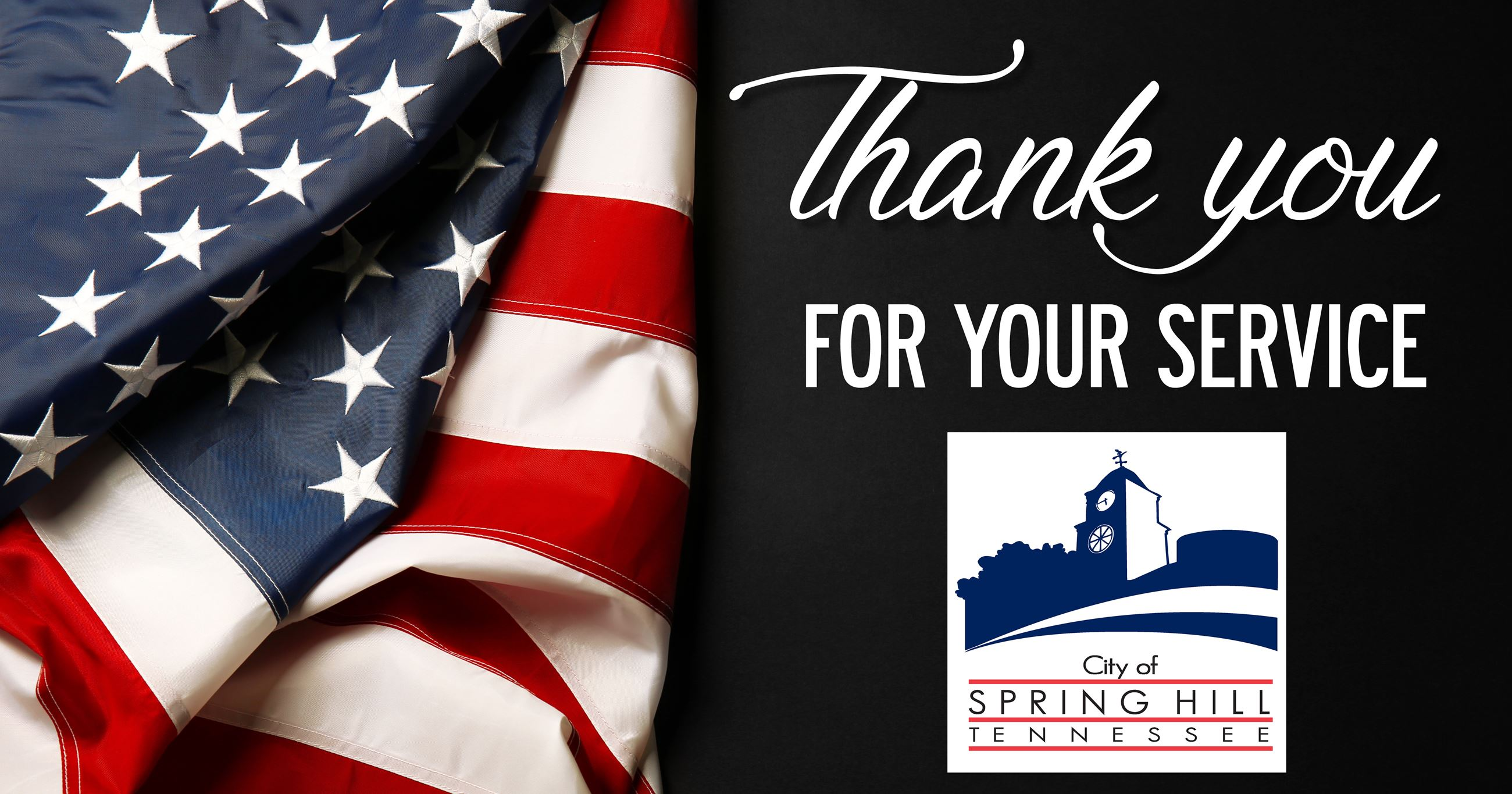Spring Hill City offices will be closed for Veterans Day