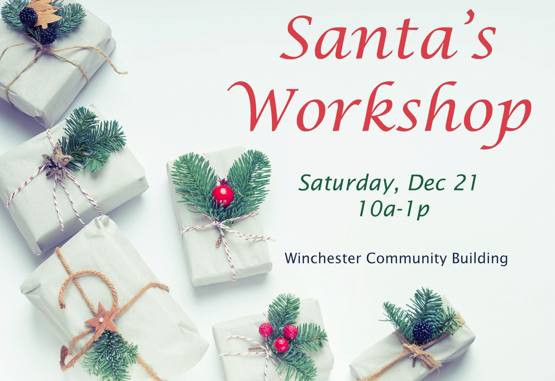 Santa's Workshop hosted by Spring Hill Parks and Recreation
