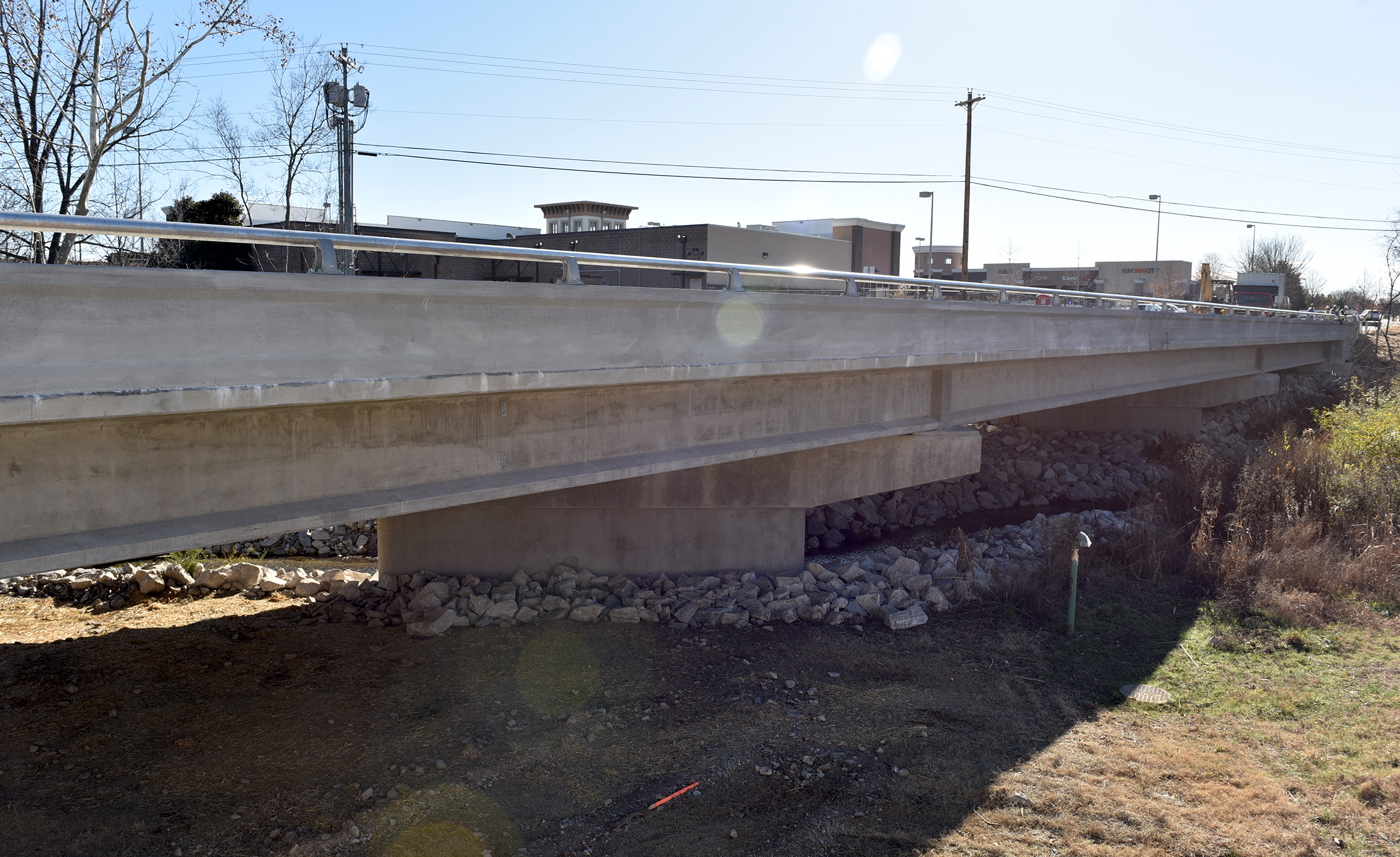 Crossings Circle North Bridge opens December 6, 2019