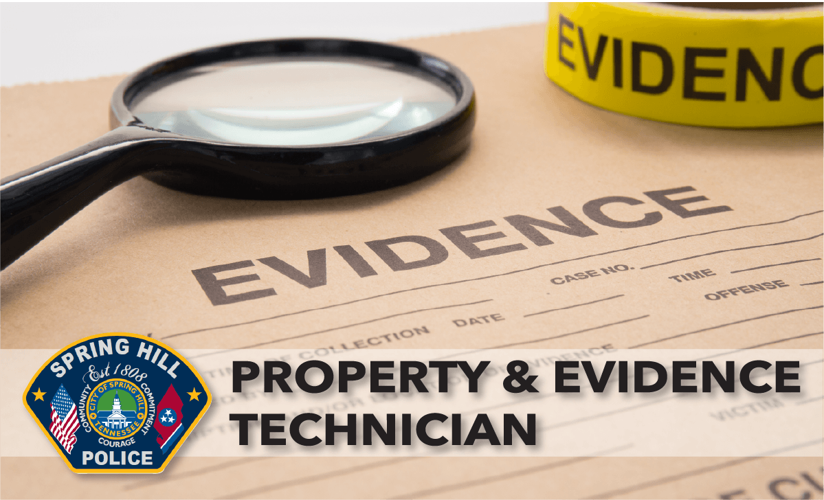 PROPERTY EVIDENCE TECH