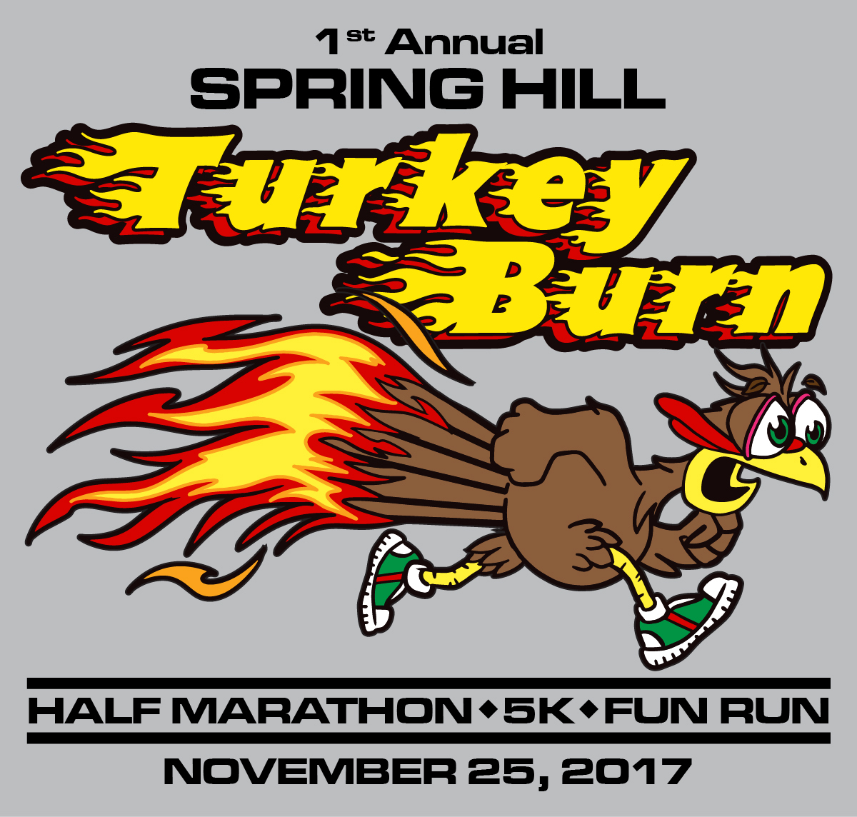 Spring Hill Turkey Burn Half-Marathon 5K Fun Run