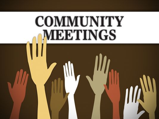 Community meetings graphic