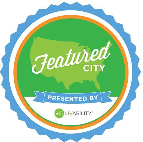 Livability Featured City badge