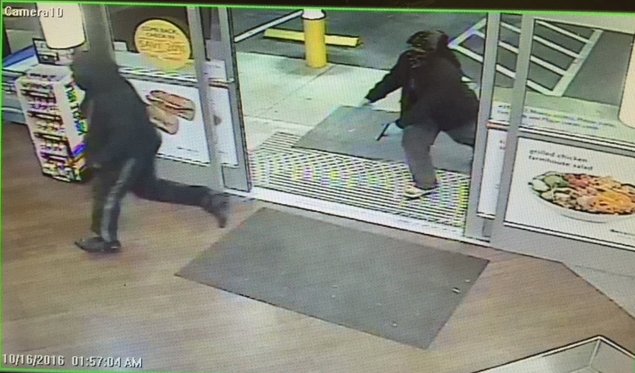 Exxon robbery suspects