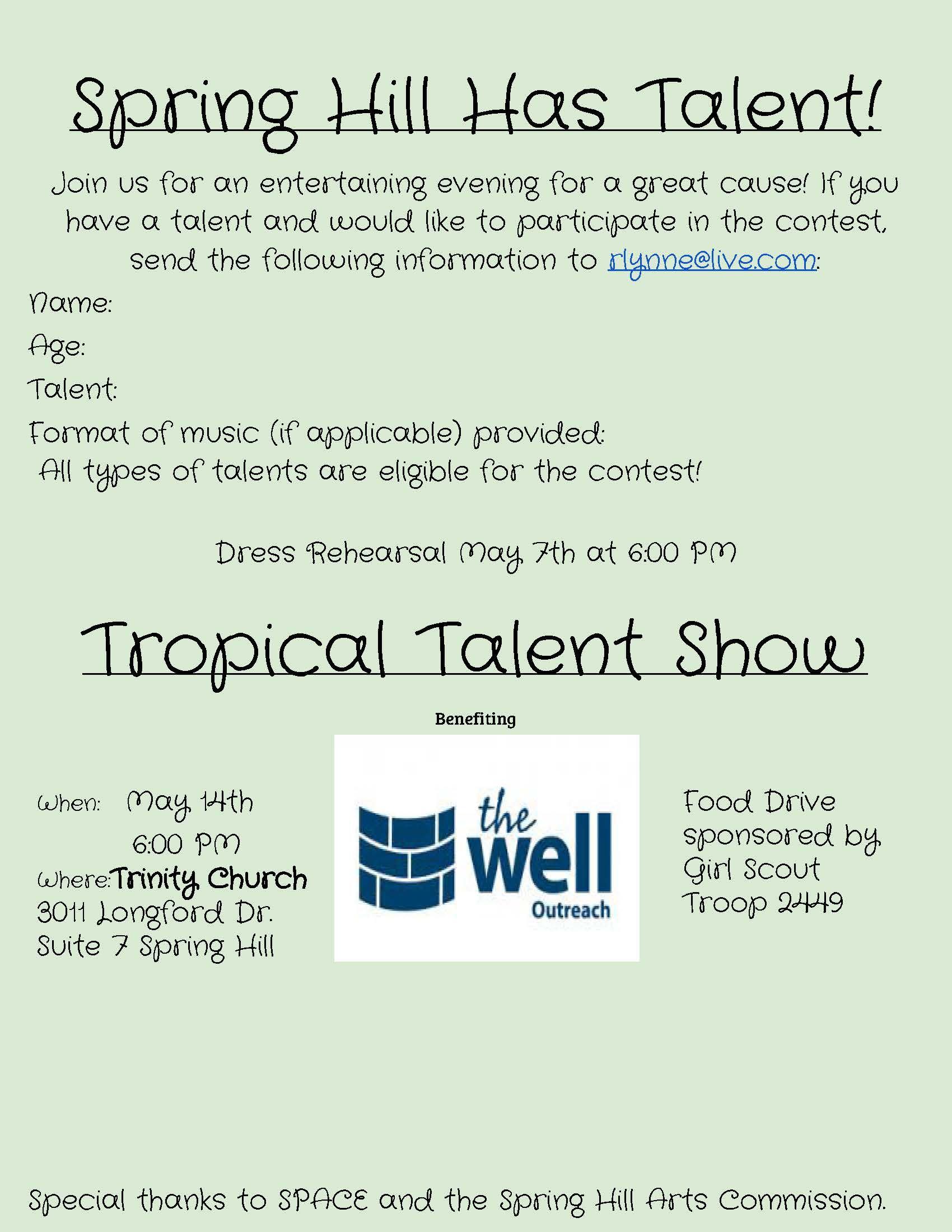 Tropical Talent Show