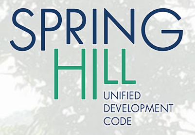 Unified Development Code public meeting