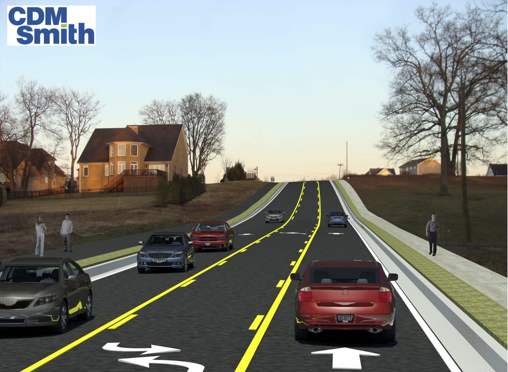 Duplex Road widening project design