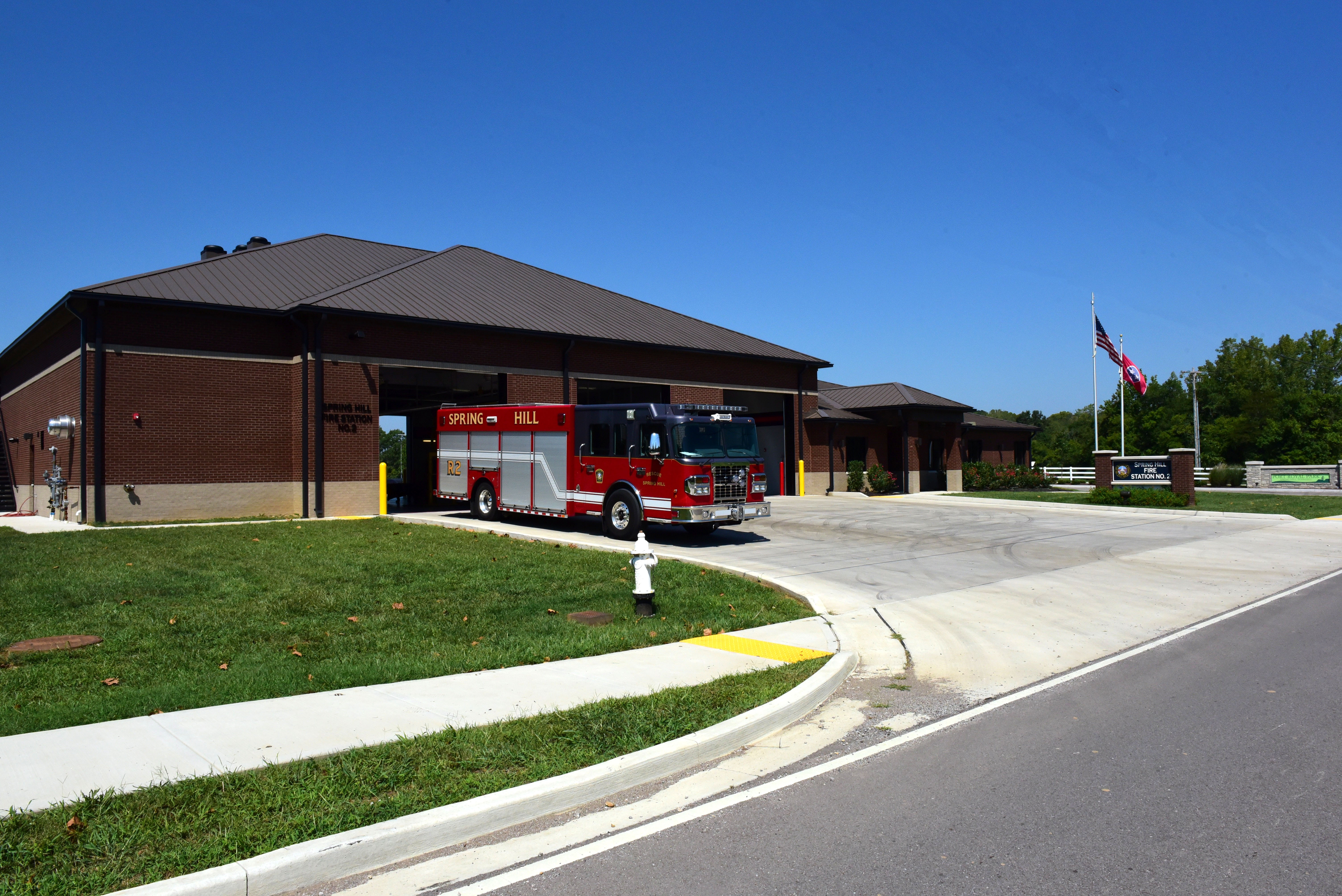New Spring Hill Fire Station 2 opened in May 2015