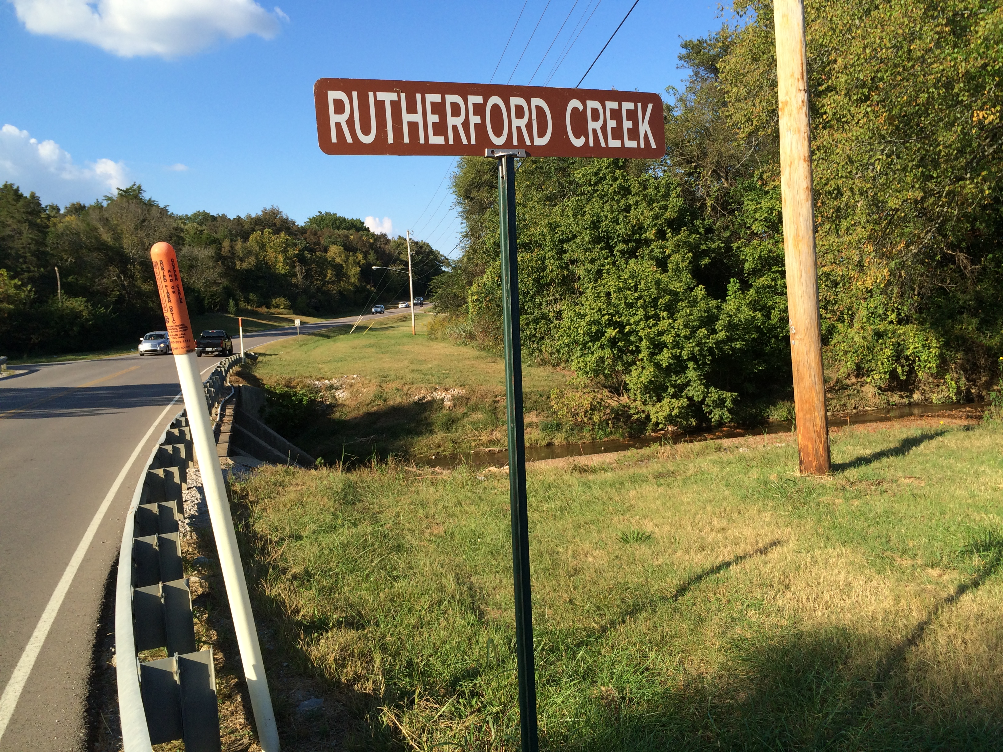 Rutherford Creek Sewer Project
