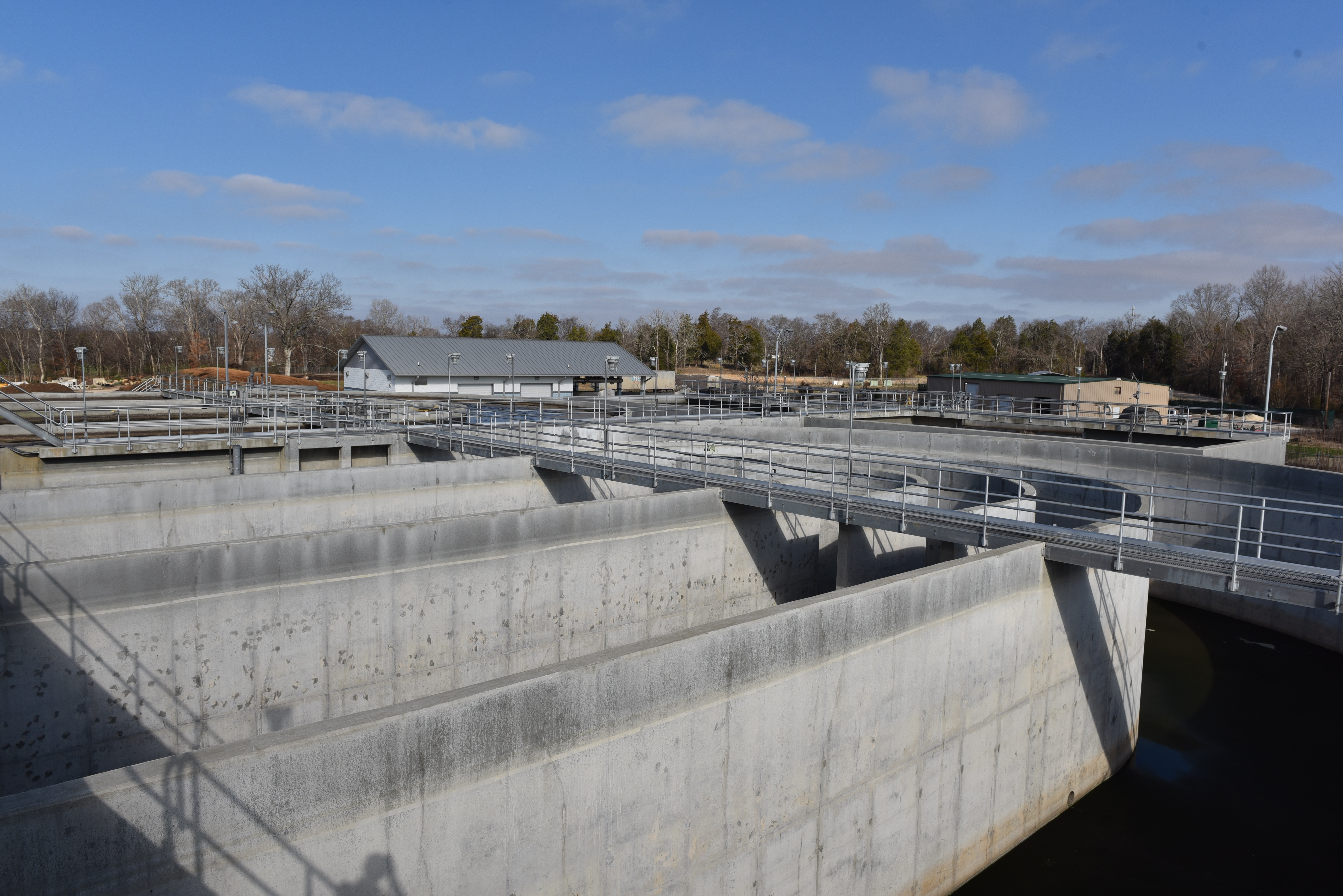 The Spring Hill Waste Water Treatment Plant is the only five-stage plant in Tennessee